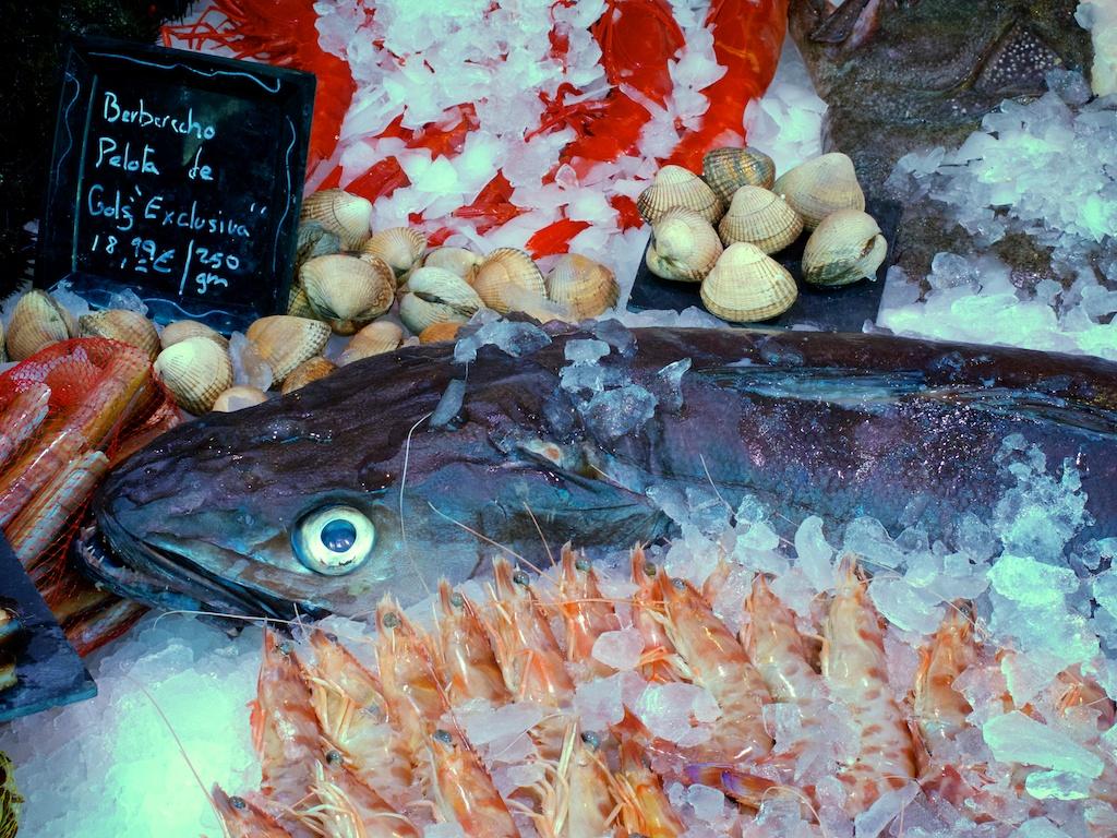 Top food markets in madrid madrid touren for Best fish food